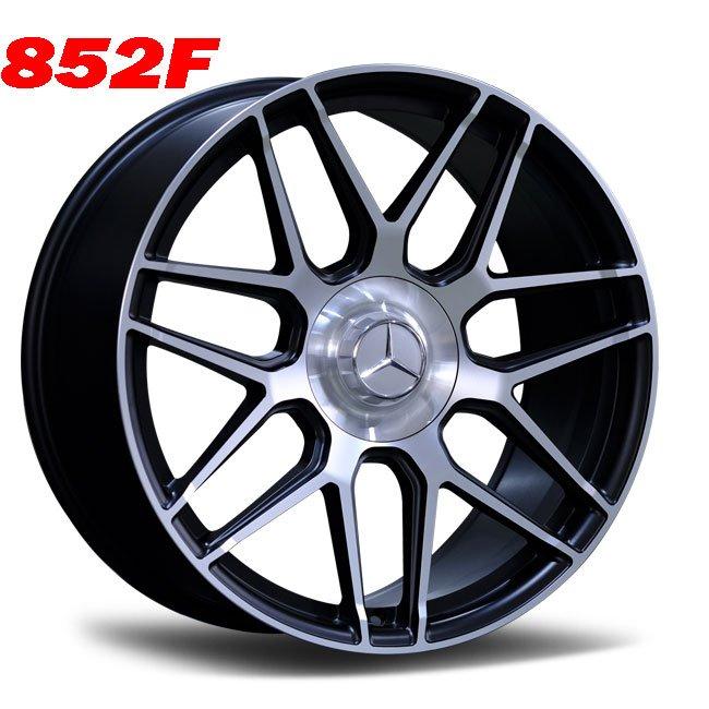 mercedes c63 gray 7 spoke alloy wheels