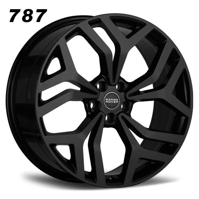 range rover 22inch black oem alloy wheels