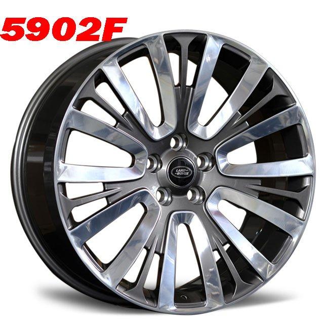 range rover 22inch custom alloy wheels
