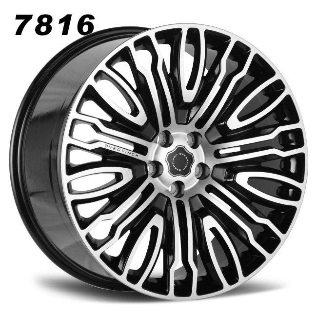 range rover overfinch 22inch black cast alloy wheels