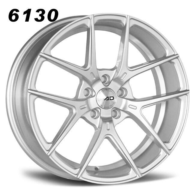 split 5 spokes and y spokes silver alloy wheels