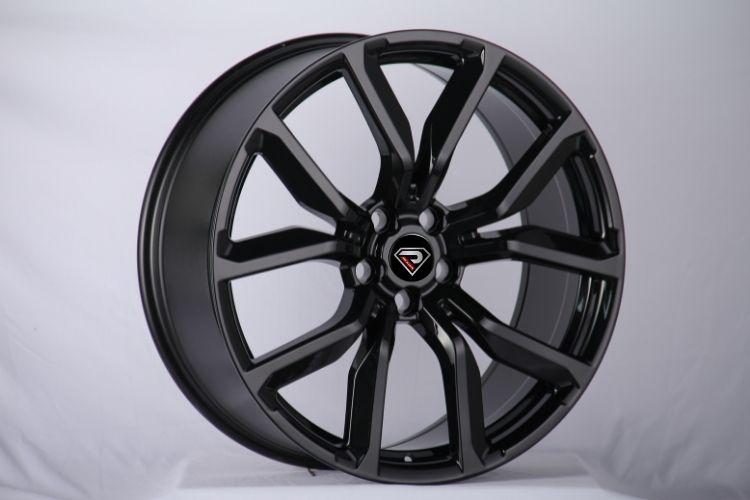 22inch black glossy range rover alloy wheels