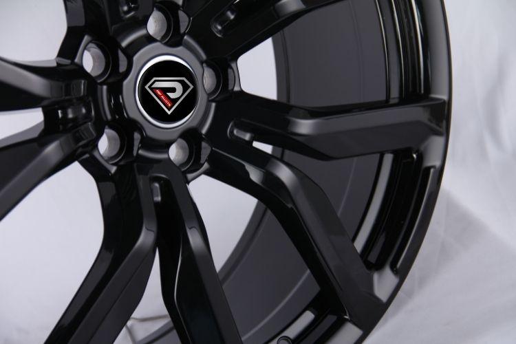22inch glossy black range rover alloy wheels