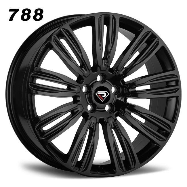 788 22inch range rover sports Velar 5x120 wheel black