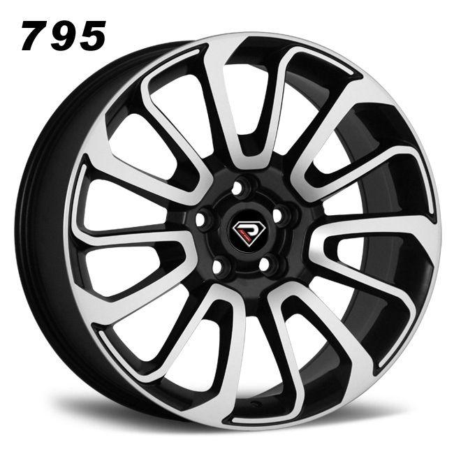 795 22inch range rover sports Velar 5x120 wheel black