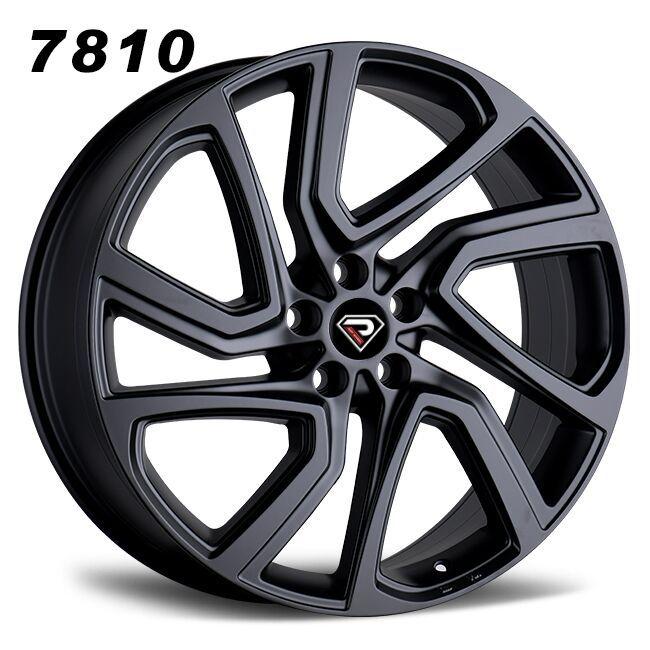 22inch range rover velar roguer alloy wheel black rim