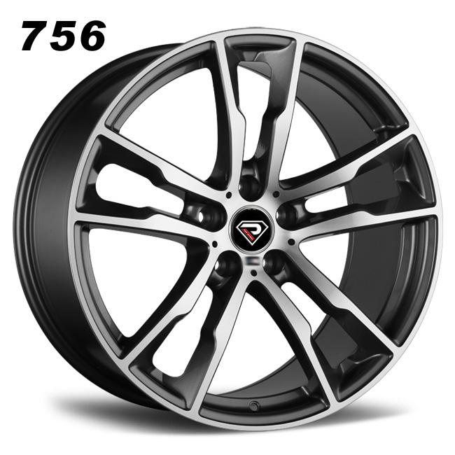 756 BMW X5M 2016 20inch 5-120 front rear wheels GMF Alloy wheels