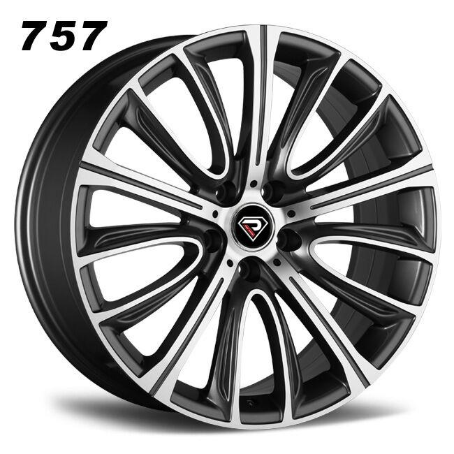757 BMW New 7 Series multi-spokes GMF Cast wheels