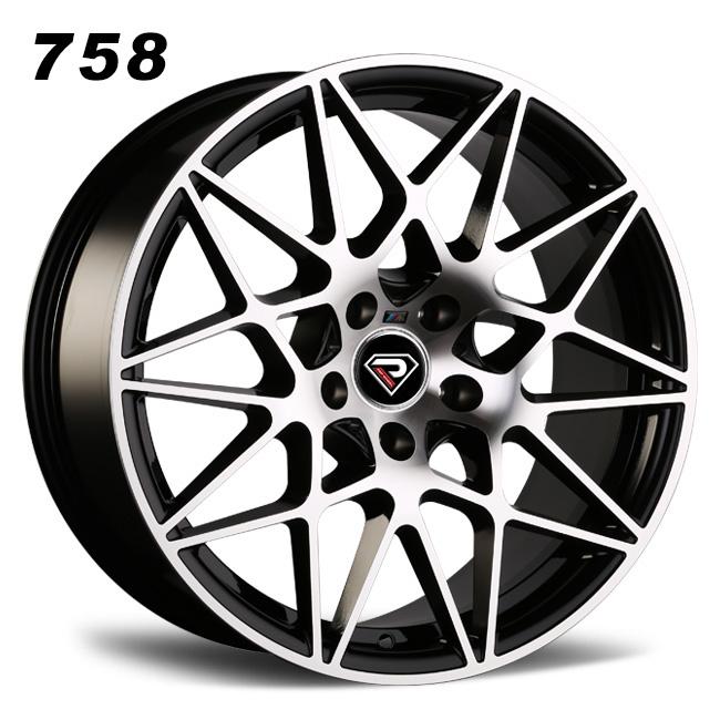 758 BMW M4 GTS 5-112 Mesh spoke BMF alloy wheels