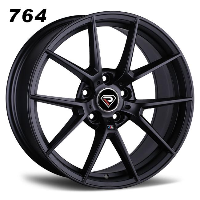 764 BMW M3 SC 19inch deep convace Matte Black Alloy wheels