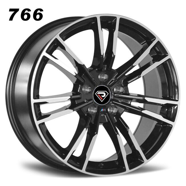 766 BMW New M5 20inch 5 holes Black Machined Face alloy wheels