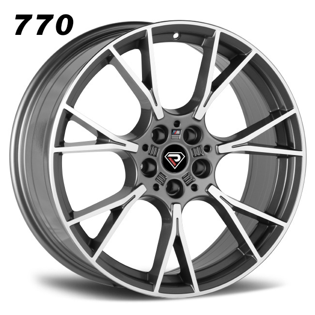 770 BMW M5 2019 all size Gunmetal Machined Face Alloy Wheels