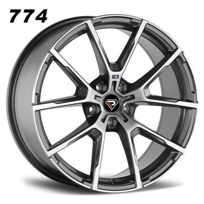 774 BMW M8 18inch 19inch 20inch 5-120 5 spoke Gunmetal alloy wheels