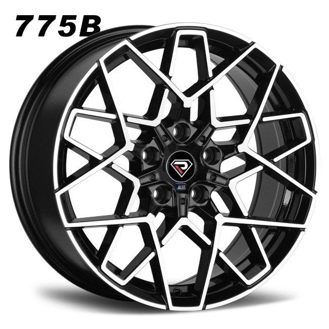 775B BMW M8 2019 Black machined face 18inch 19inch alloy wheels