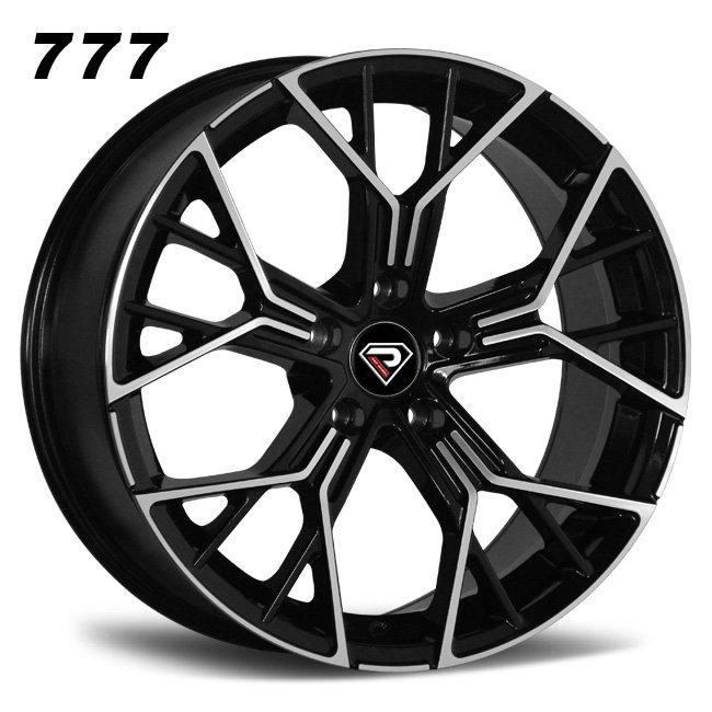 777 BMW New M8 18inch 19inch Y shape spoke Black machined face alloy wheels