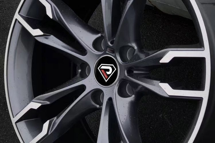 BMW 550i 19inch 5-120 Double 5 spokes Gunmetal Machined Face Alloy wheels