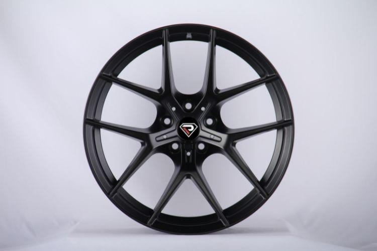 BMW M2 18inch 5 Double spokes Satin Black Alloy wheels