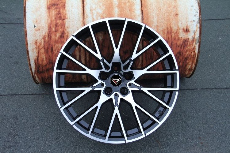 BMW M2 19inch Black Machined Face alloy wheels