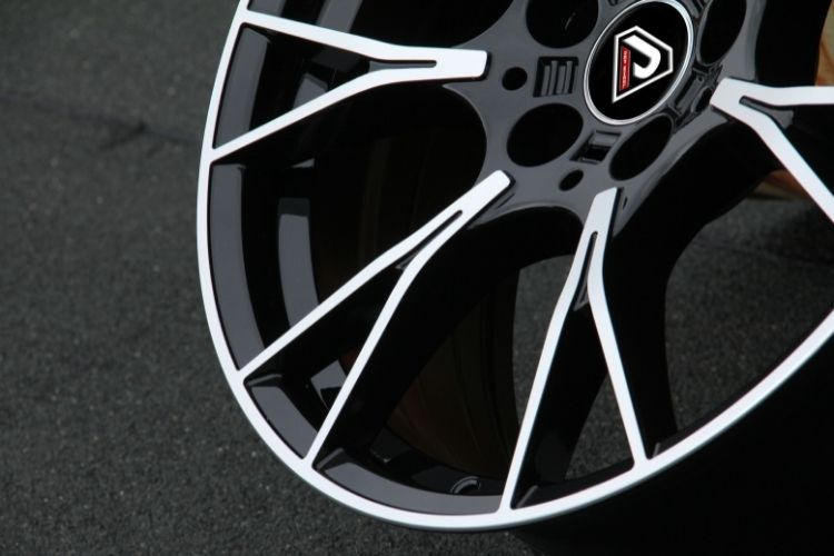 BMW M5 2019 18inch Black Machined Face Alloy Wheels
