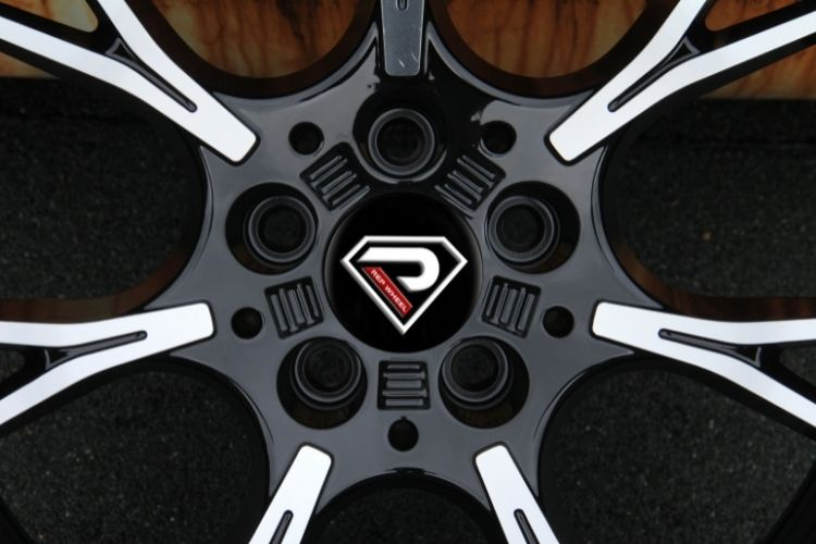 BMW M5 2019 19inch Black Machined Face Alloy Wheels