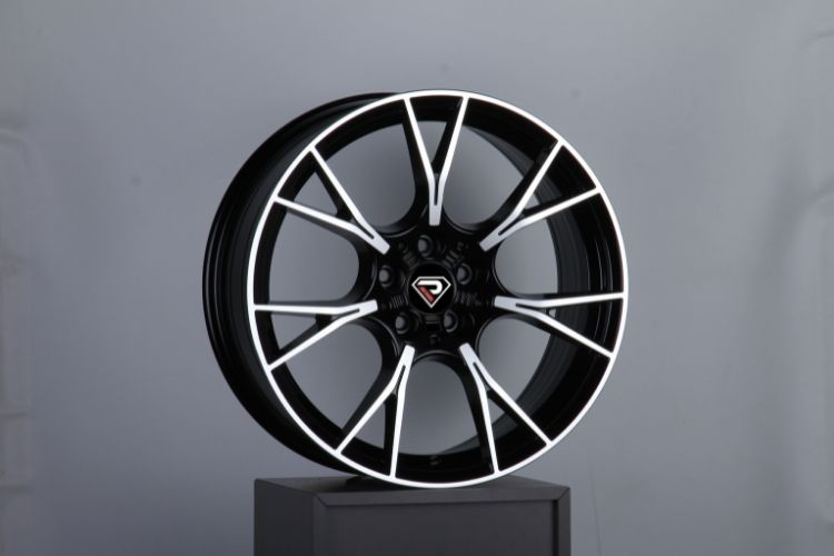 BMW M5 2019 all size Black Machined Face Alloy Wheels
