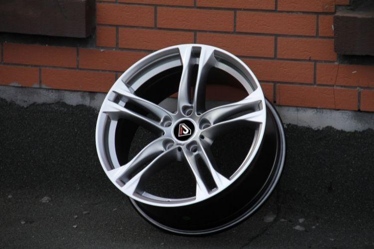 BMW M6 18inch high quality 5-112 5 spokes hyper sliver alloy wheels