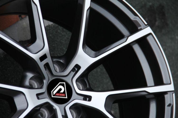 BMW M8 18inch 19inch 20inch 5-120 5 spokes Dark Gunmetal Machined Face alloy wheels