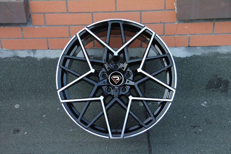 BMW M8 20inch 5 Spoke black machined face alloy wheel