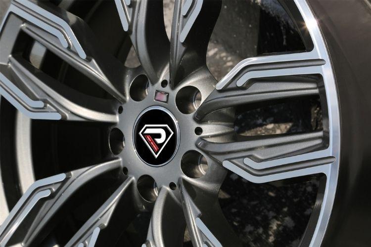 BMW New 760 li 5-120 5 holes sport design Gunmetal Machined Face alloy wheels