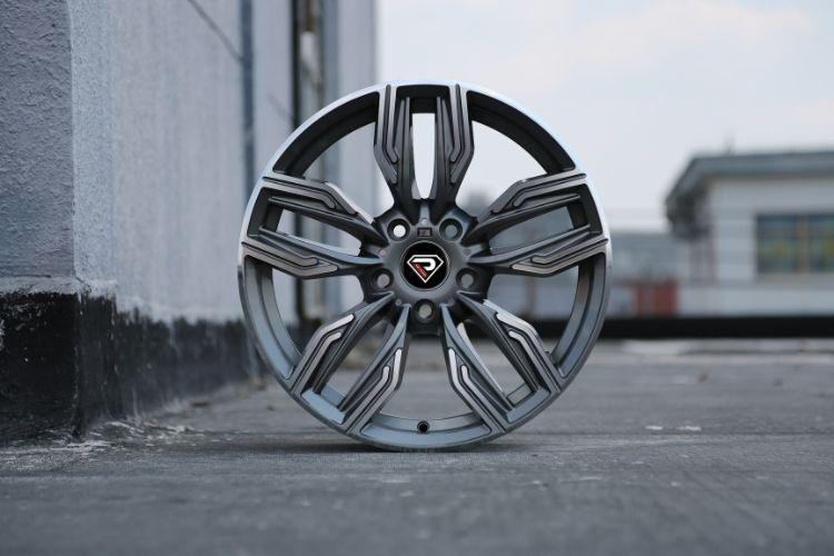 BMW New 760 li 5-120 sport design 5 spokes Gunmetal wheels
