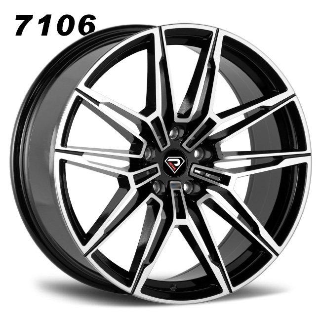 7106 BMW New M4 V shape spokes BMF Alloy Wheels