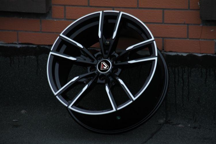 BMW X3 M performance 5 holes deep concave Black Machined Face Alloy Wheels