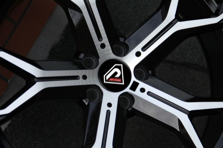 BMW X5 2019 20inch 21inch 5-112 5 holes Black Machined Face alloy wheels