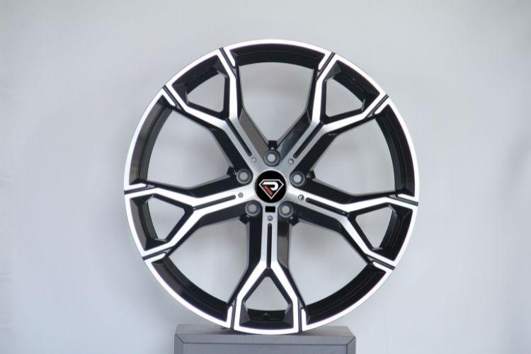 BMW X5 2019 20inch 21inch 5-120 Black Machined Face alloy wheels