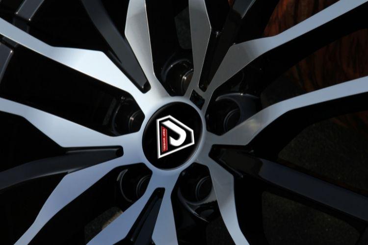 BMW X5 2019 20inch 22inch Multi-spoke Black Machined Face alloy wheels