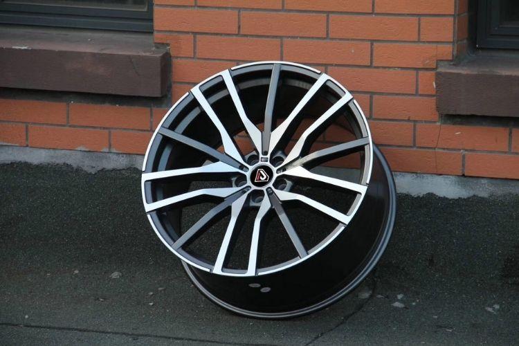 BMW X5 2019 20inch Front and rear Multi-spoke GMF alloy wheels