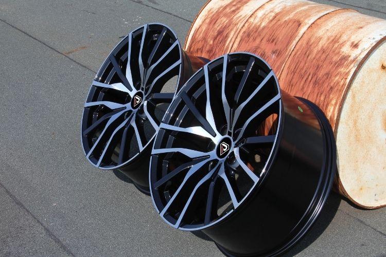 BMW X5 2019 22inch Multi-spoke Black Machined Face alloy wheels