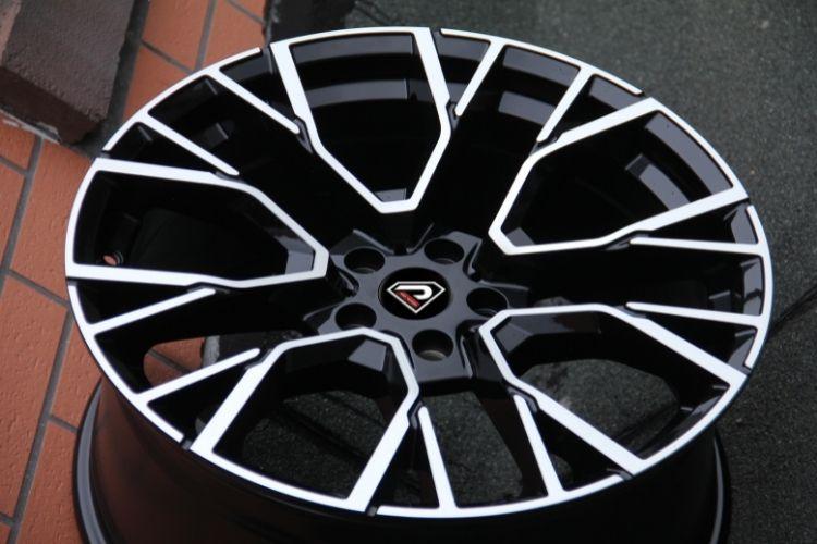 BMW X5M 2020 5-holes Black Machined Face Alloy Wheels
