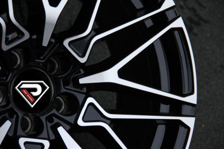 BMW X6M 2020 Multi-spokes high loading Black Machined Face Alloy Wheels