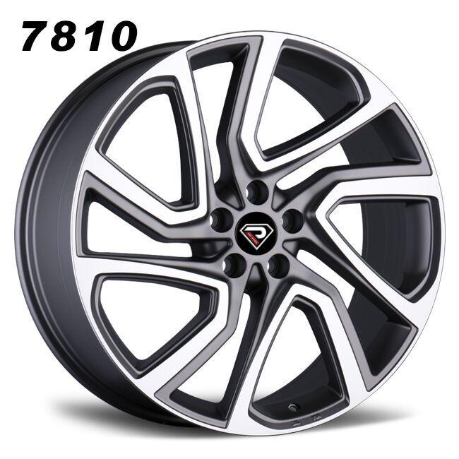 7810 22inch range rover velar roguer alloy wheel gunmetal rim