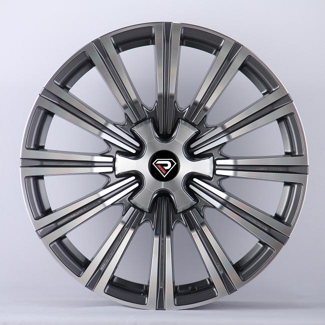 2404 Lexus 20inch 22inch Gunmetal Machined Face Alloy Wheels