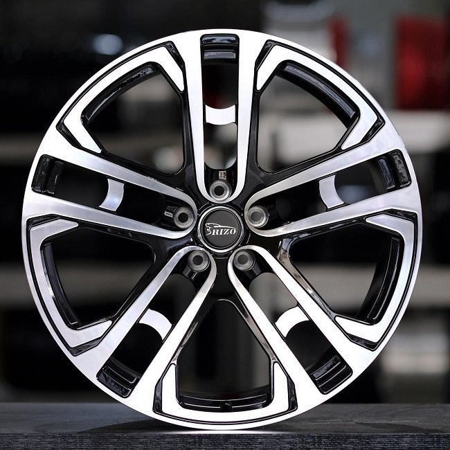 5611F KAHN Q7 20inch Black Machined Face Custom Forged Wheels