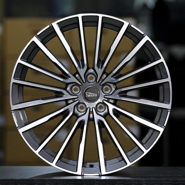 5717F BMW Multi-spokes Gunmetal Machined Face Forged wheels