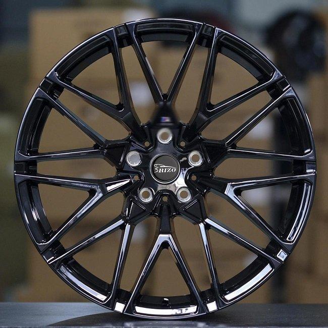 5718F BMW 5-120 Black Custom Forged wheels