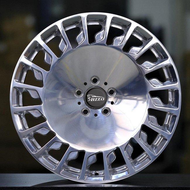 5817F Mercedes 20inch big face Polished Forged Wheels