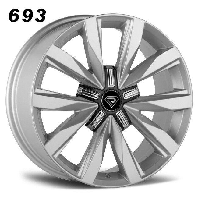 693 18inch NEW Amarok rims in Sliver Alloy wheels (2)