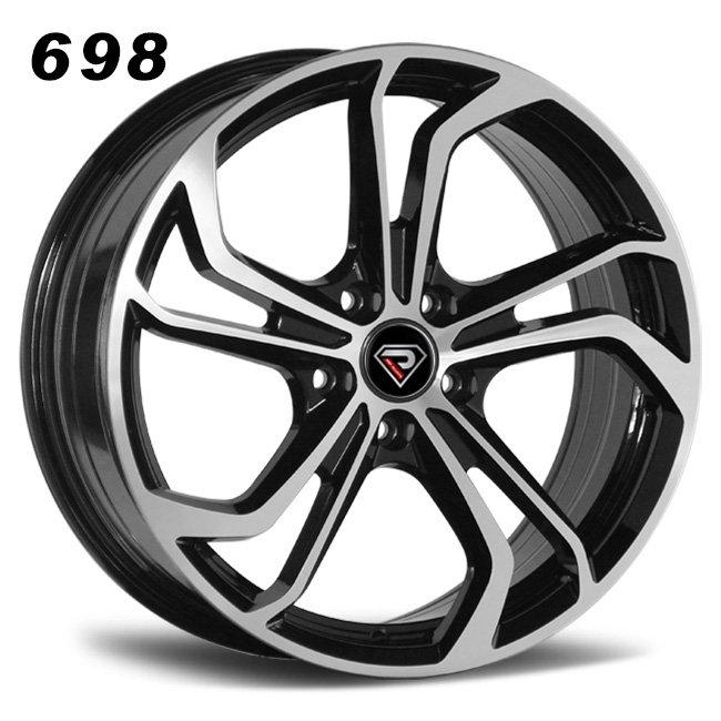 698 171819inch NEW GTI rims in Black Alloy wheels in bmf