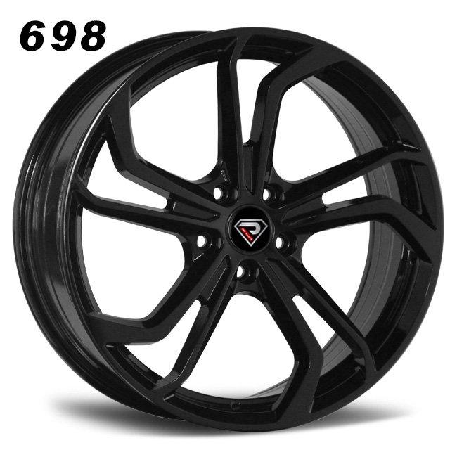 698 171819inch NEW GTI rims in Black Alloy wheels