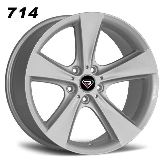 714 BMW 7 Series 5 spokes 18inch 19inch Sliver Lip Alloy wheels