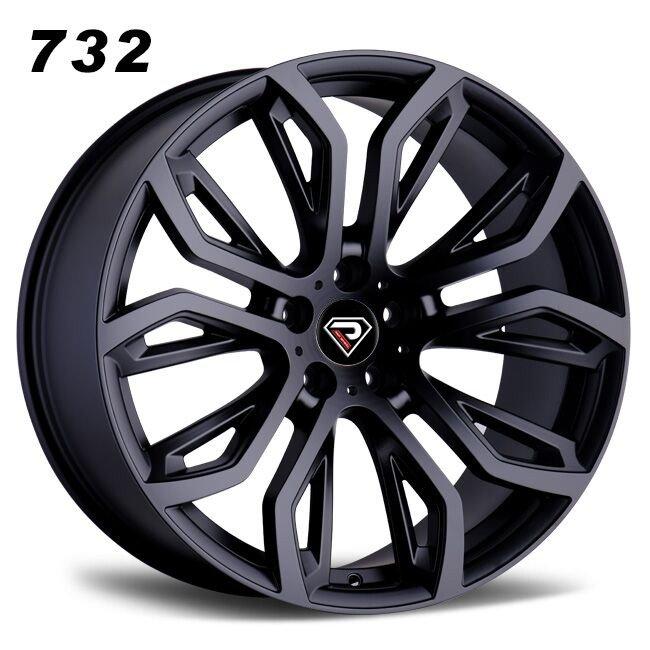 732 BMW X6 Sport design Matte Black Alloy wheels